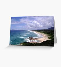 Up North on the East Coast looking South (New South Wales) Greeting Card