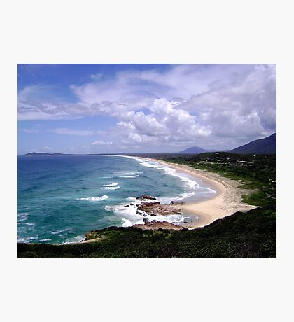 Up North on the East Coast looking South (New South Wales) Photographic Print
