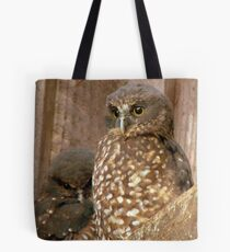 Excuse Me... Day Time Is Night Time Here... - Morepork Owl - NZ Tote Bag