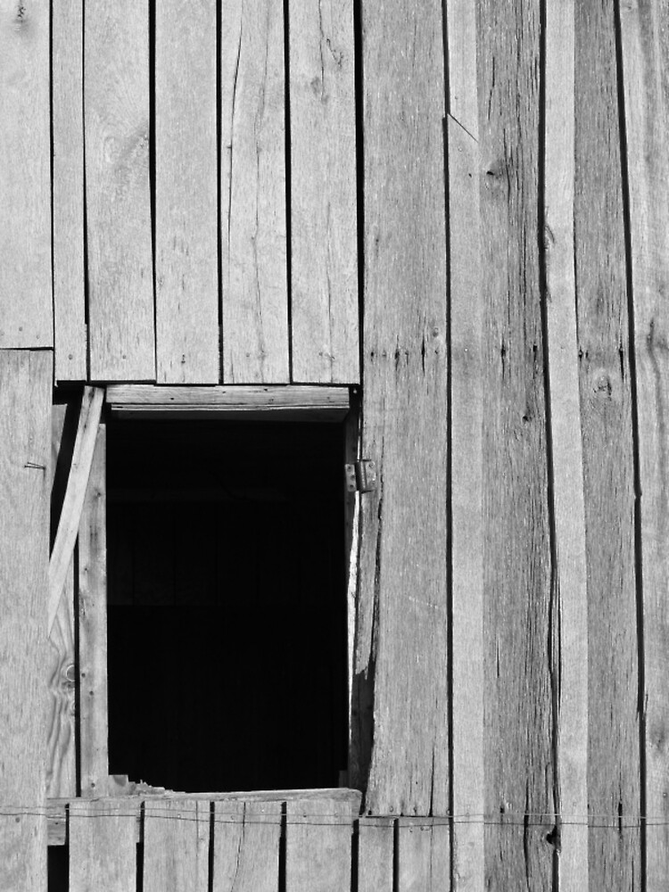 Barn Window by Sam  Athey