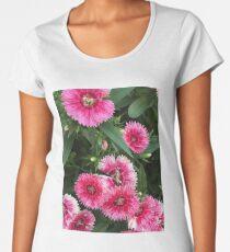 Pink Dianthus Women's Premium T-Shirt