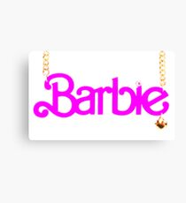 BARBIE - NECKLACE Canvas Print