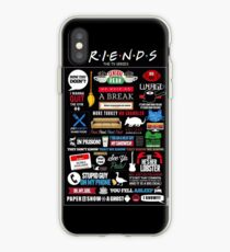 Friends Quotes iPhone Case