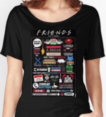 Friends Quotes Women's Relaxed Fit T-Shirt