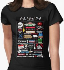 Friends Quotes Women's Fitted T-Shirt