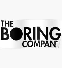 The Boring Company Poster