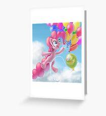 Pinkie Sky Greeting Card
