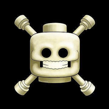 Lego Skull and Crossbones by davecharlton