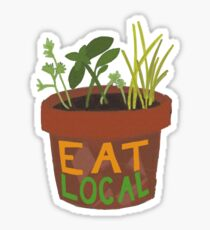 Eat Local - Herbs Sticker