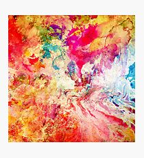 Abstract Painting LOVE Photographic Print