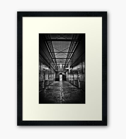 Incarceration Framed Print