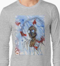 Ink Splatter Long Sleeve T-Shirt