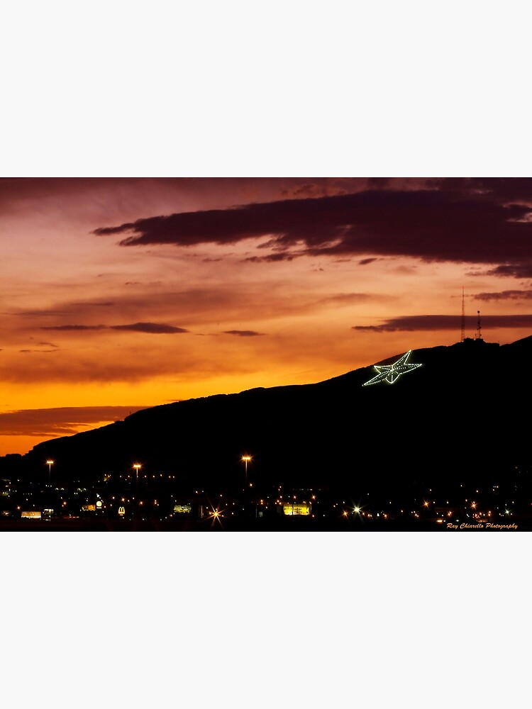 El Paso's Star on the Mountain by rchiarello