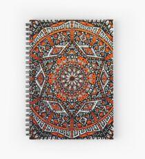 Inferno Mandala 2.0 Spiral Notebook