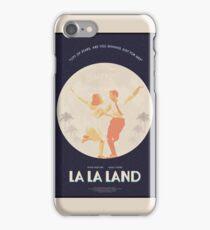 La La Land - Movie Style Poster iPhone Case/Skin