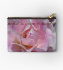Embrace The Seasons Of Change - Rose - NZ Studio Pouch