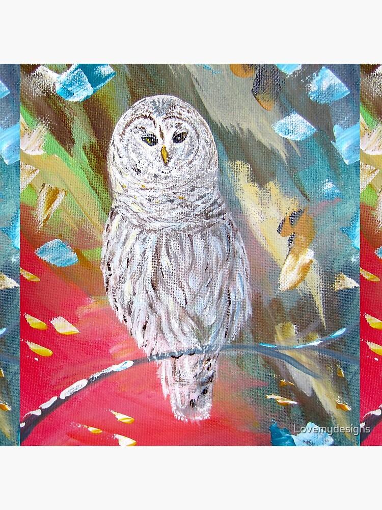 White owl. Xmas owl by Lovemydesigns