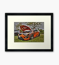 Ford Graphics HDR Framed Print