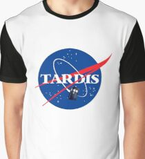 Nasa Tardis Graphic T-Shirt