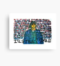 Smile (Eyedea Portrait) Canvas Print