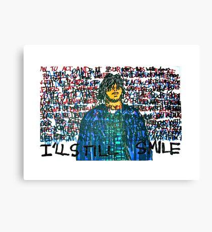 Smile (Eyedea Portrait) Canvas Print