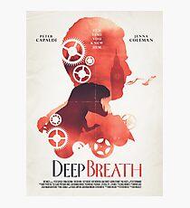 Doctor Who: Deep Breath Photographic Print