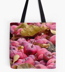 Fallen Crab-apples - Gore Southland NZ Tote Bag