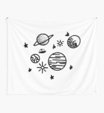 Simple Space Wall Tapestry