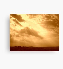 torch from the sky Canvas Print
