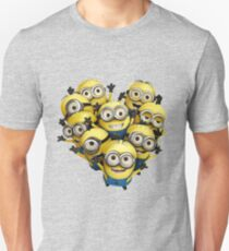 Minion Heart- Minions despicable me Unisex T-Shirt