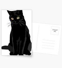 Black Cat Postcards