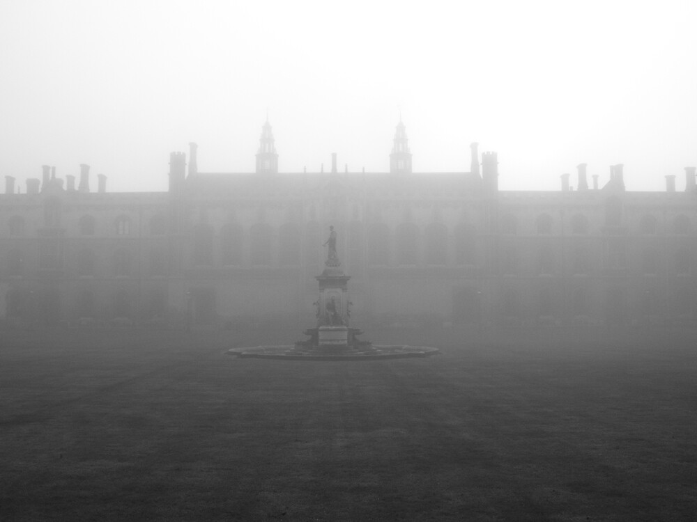 A Misty Campus by Sam  Athey