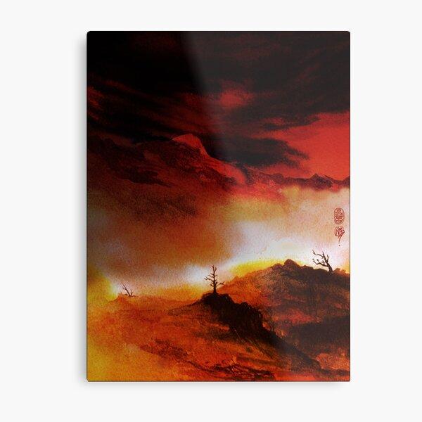 Ember Sky Metal Print