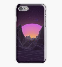 80s Retro Vaporwave iPhone Case/Skin