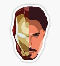 Tony Stark/Iron Man Semi-Minimalist Sticker