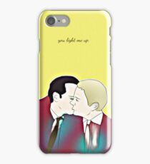Johniarty: You light me up iPhone Case/Skin