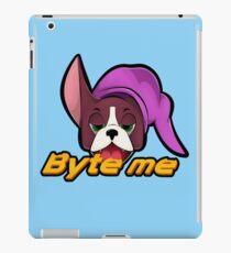 Computer Byte Boston Illustration iPad Case/Skin