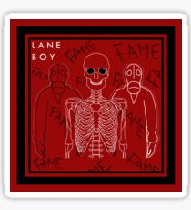 Lane Boy Design Sticker