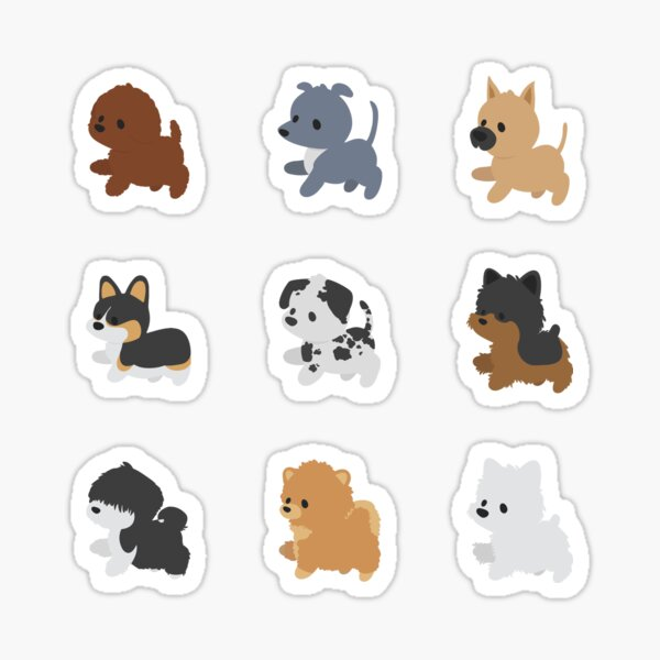 Chibi Puppers vol. 2 Sticker