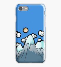 Icey Mountain Scene Illustration iPhone Case/Skin