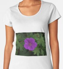 Purple Pinwheel Women's Premium T-Shirt