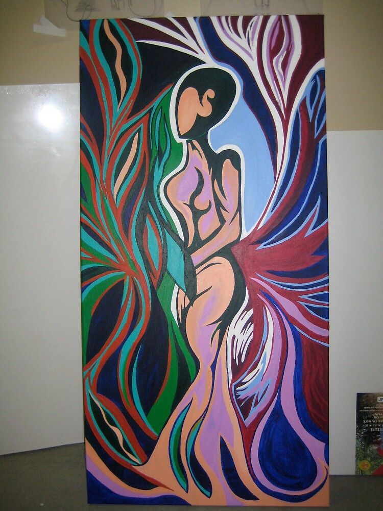 CONTENT WOMAN by Sabrina  Herrett