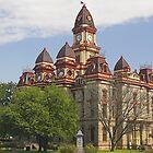 Courthouse, Lockhart, Texas by Tamas Bakos
