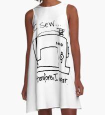 Sew Swear A-Line Dress