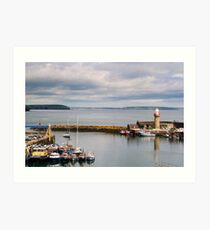 Harbour, Dunmore East, County Waterford, Ireland Art Print
