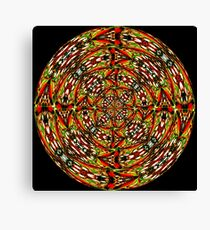 Stained Glass-6 Canvas Print