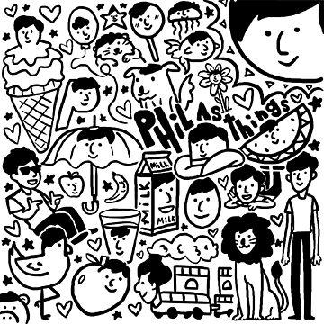 dan & phil - phil as things by DoodlesByAdzie