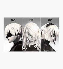 Nier Portrait Set Photographic Print