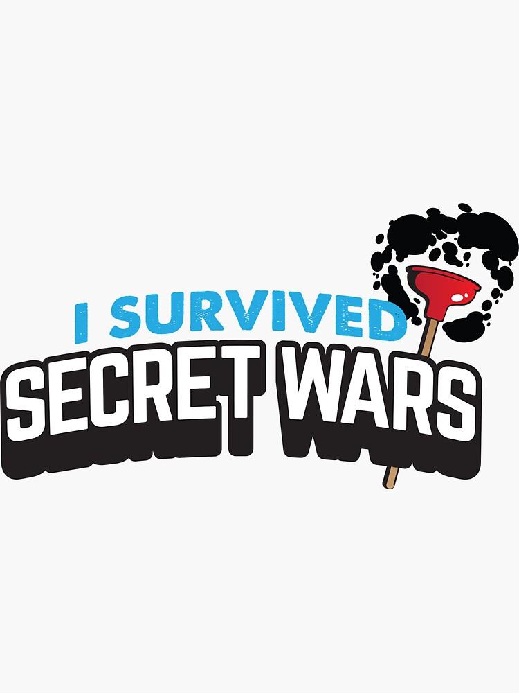 I SURVIVED SECRET WARS by rachelandmiles