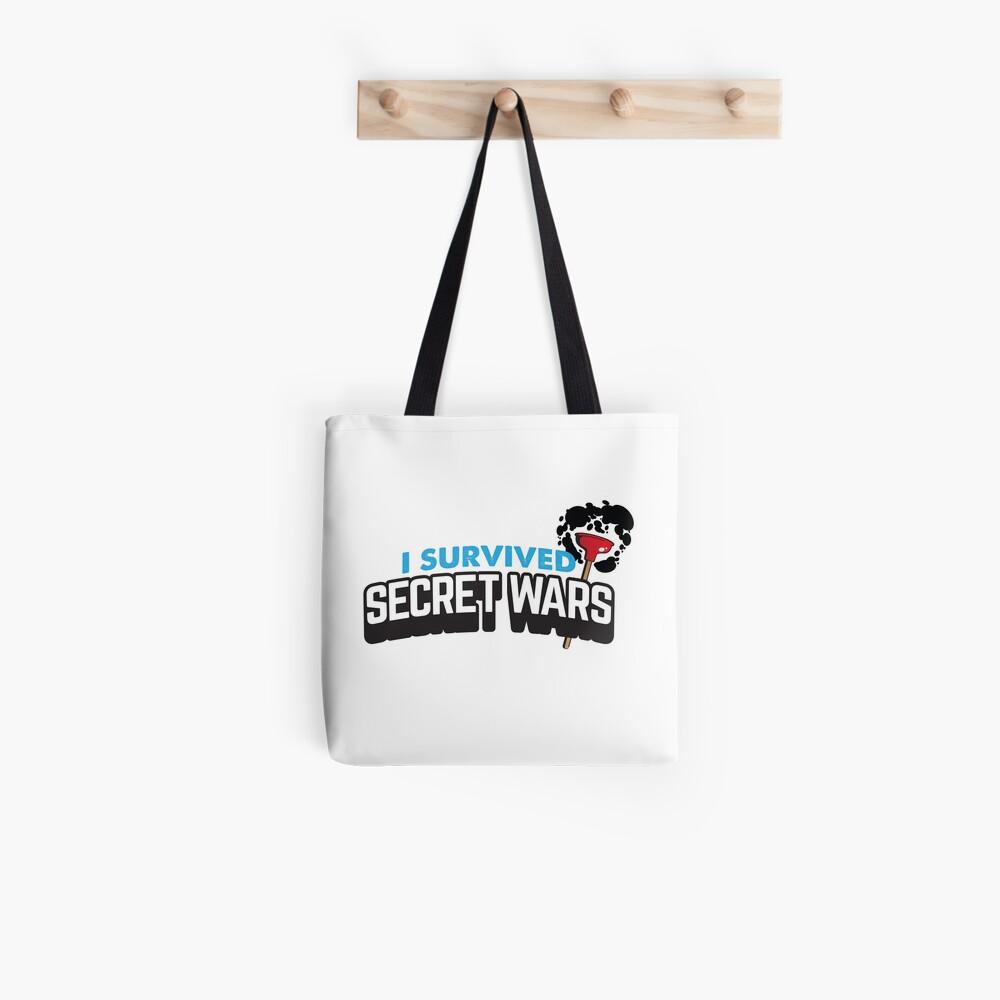 I SURVIVED SECRET WARS Tote Bag
